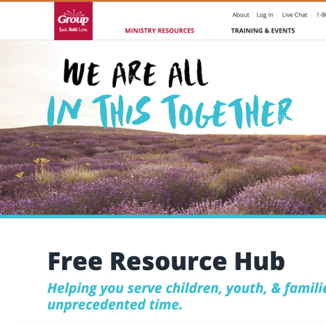 Free Quarantine-Friendly Resources for Families, Children and Youth Ministry