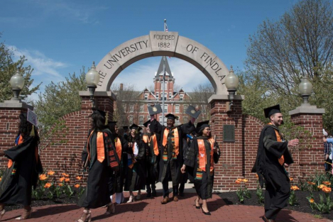University of Findlay Ranked No. 1 Nationally as Best College for Church of God Students